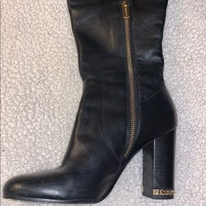 Michael Kors Shoes - MICHAEL KORS OVER THE KNEE LEATHER BOOTS SIZE 6